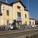 železničná stanica, Šahy