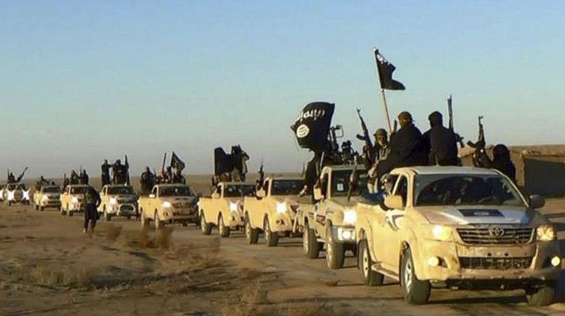 islamský štát, sýria, militanti, bojovníci,...