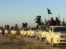 islamský štát, sýria, militanti, bojovníci, povstalci, ozbrojenci, konvoj