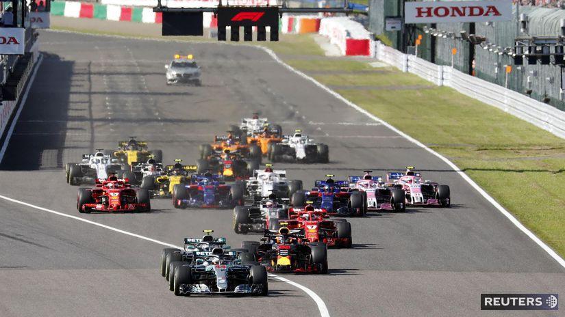 F1, Japonsko, štart