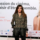 Herečka Anne Parillaud na otvorení Lumiere 2018 Grand Lyon Film Festival.