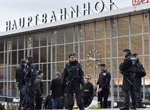 nemecko, kolín, stanica, železnica, polícia, rukojemník