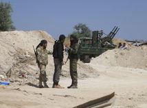 rebeli, povstalci, idlib, sýria