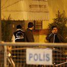 Turecko Saudská Arábia novinár zmiznutie konzulát prehľadan