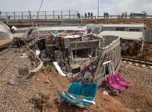 maroko, afrika, vlak, nehoda, vykoľajenie