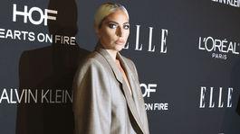 Speváčka a herečka Lady Gaga v kreácii Marc Jacobs.