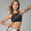 Tanečnica a modelka Ivana Gáborík miluje jogu.