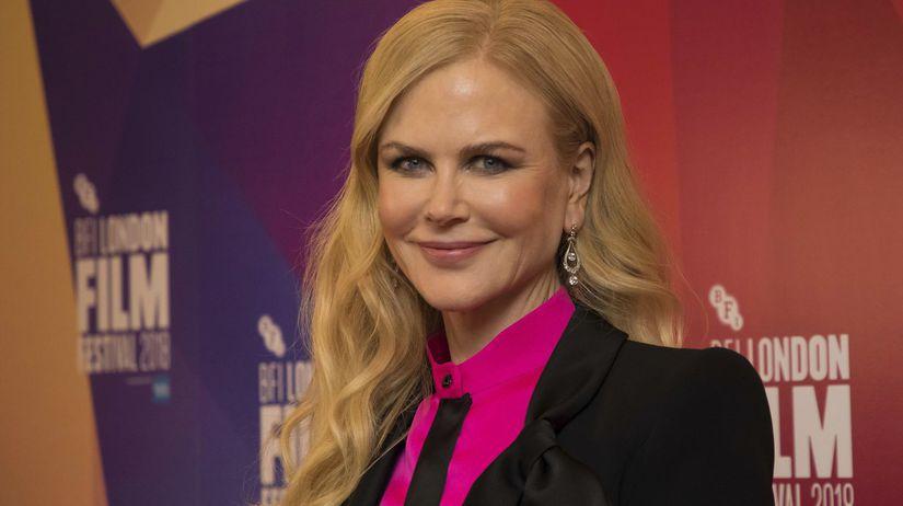 Herečka Nicole Kidman pózuje na premiére filmu...