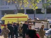Študent útočil na krymskej škole, zahnulo 18 ľudí