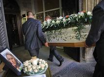 Viktoria Marinova, pohreb, Viktorija Marinovova