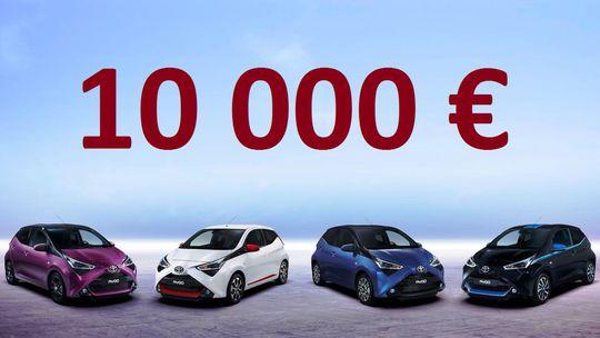 Autá do 10 000 €