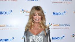 Herečka Goldie Hawn na archívnom zábere.