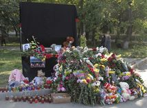 kerč, krym, spomienka, rusko, ukrajina, streľba, škola, pomník, pamätník
