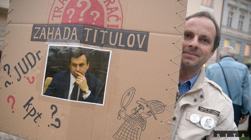 PROTEST: Danko ukហprácu!