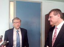 Pomôže Bill Gates aj baniam na Slovensku?