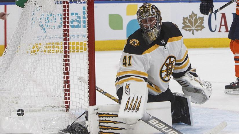 Bruins Oilers Hockey Halák hokej