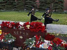Krym, Kerč, pohreb