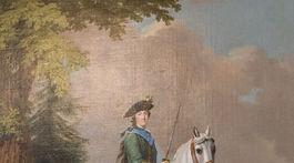 Zlaty vek Peterhofu, vystava, jazdecky portret Katariny ll