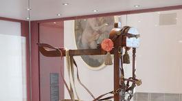 Zlatý vek Peterhofu, výstava, jazdecký postroj,