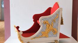 Zlatý vek Peterhofu, výstava, kočiar z horskej dráhy