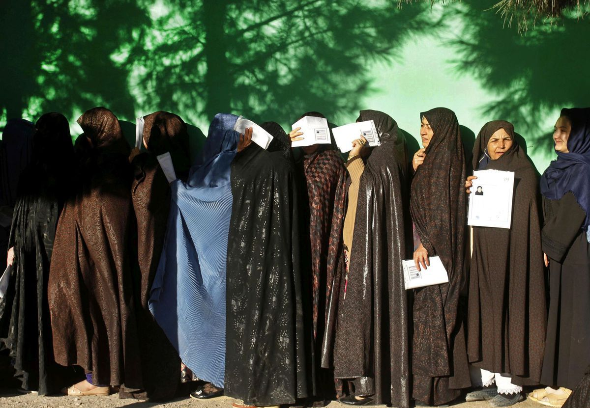 Afganistan voľby parlamentné