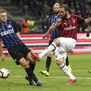 Škriniar slávi veľké víťazstvo. Inter zložil rivalské AC v nadstavenom čase