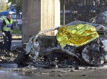 Nemecko nehoda dopravná požiar obet