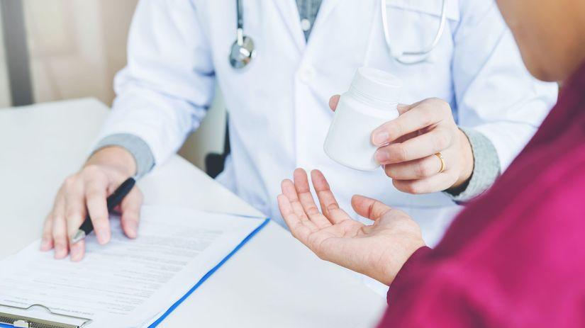 lekár, liek, pacient