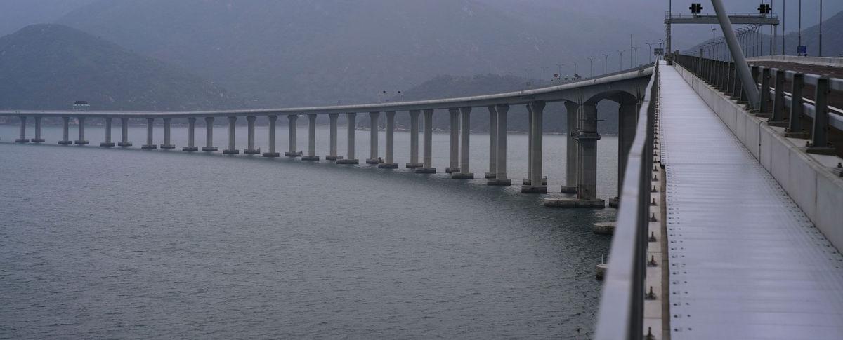 most, Čína, Hongkong