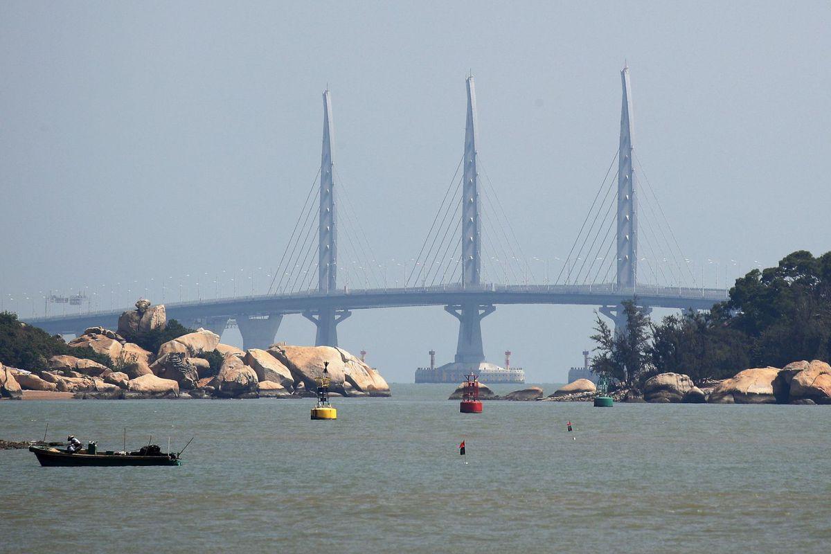 most, Hongkong, Čína