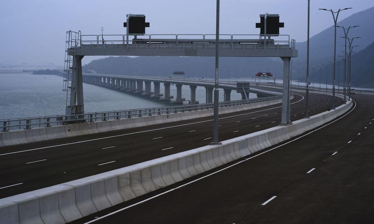 most, Hongkong, Čína,