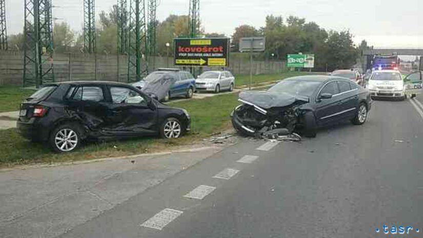 SR Bratislava Nehoda Dopravná BAX