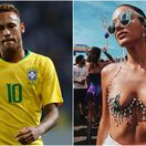 Neymar, Bruna Marquenize