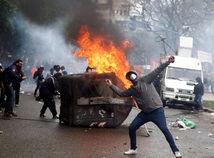 argentína, protest, demonštrácia, nepokoje
