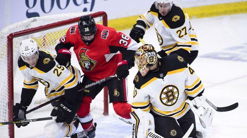 Bruins Senators Hockey NHL