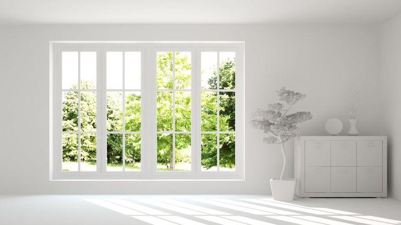 okno, interiér, bývanie,