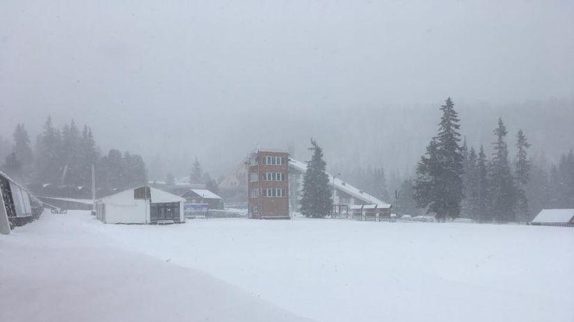 sneh, strbske pleso