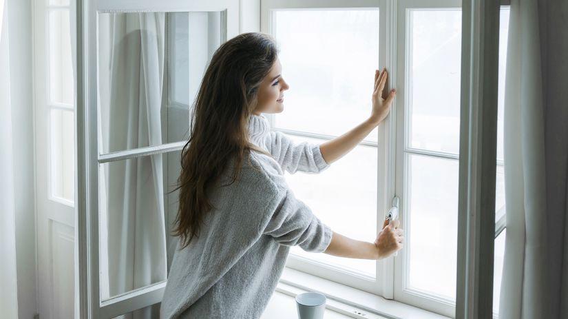 vetranie, okná, bývanie