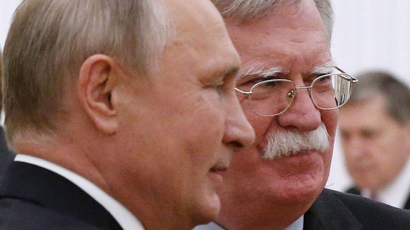 Vladimir Putin, John Bolton