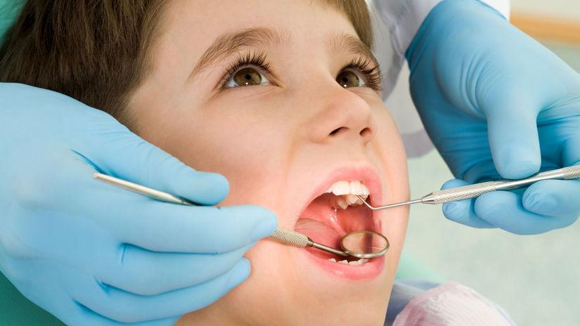 zubár, dieťa, zuby