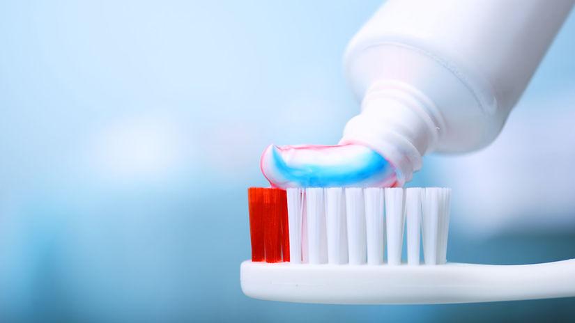 zubná hygiena, zubná kefka, zubná pasta