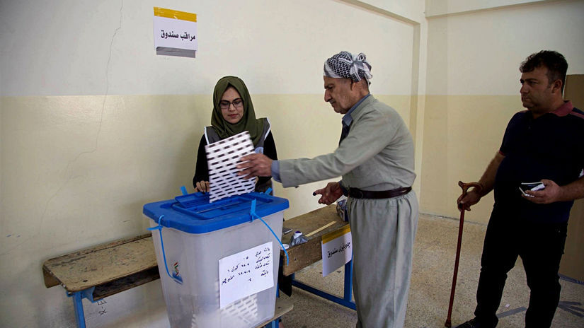 Irak, parlamentné voľby