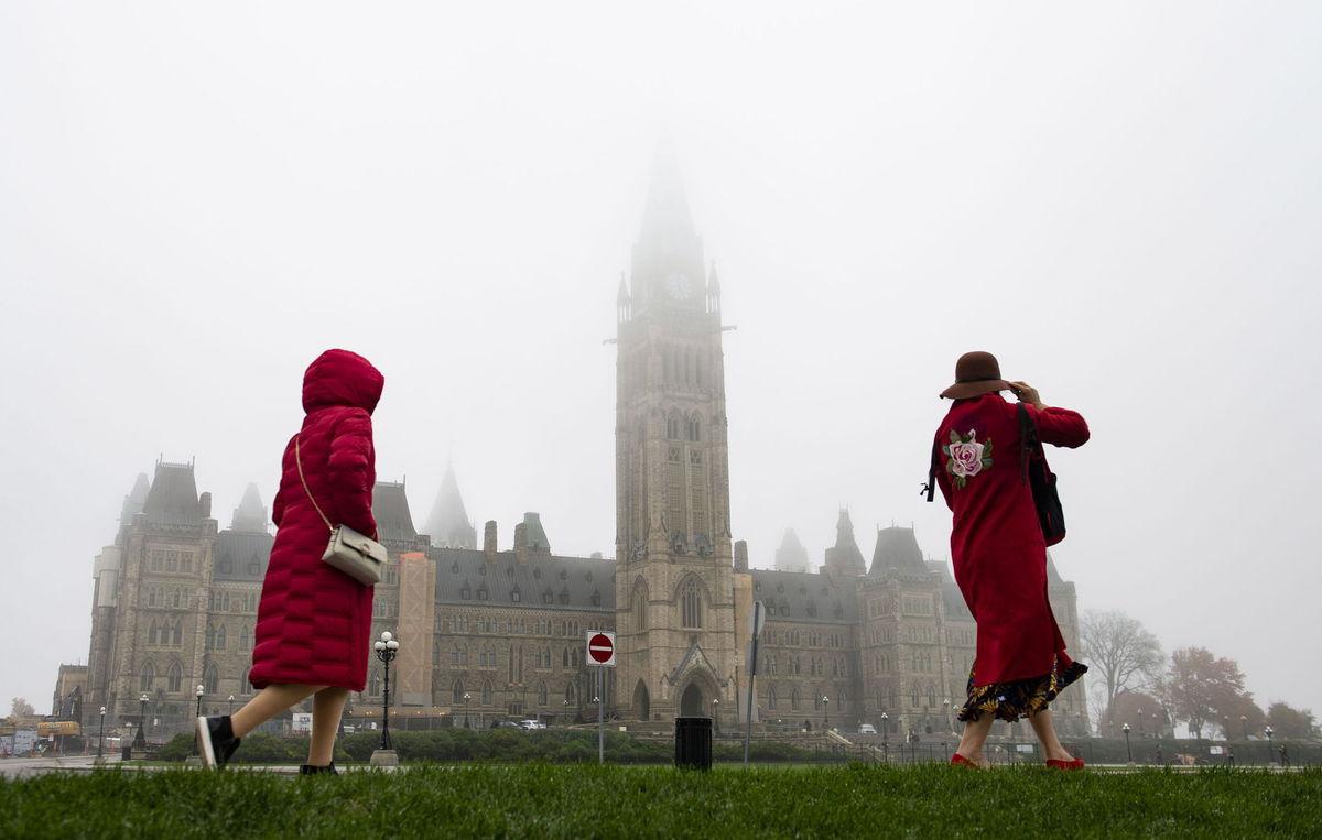 Kanada, Ottawa, parlament, hmla