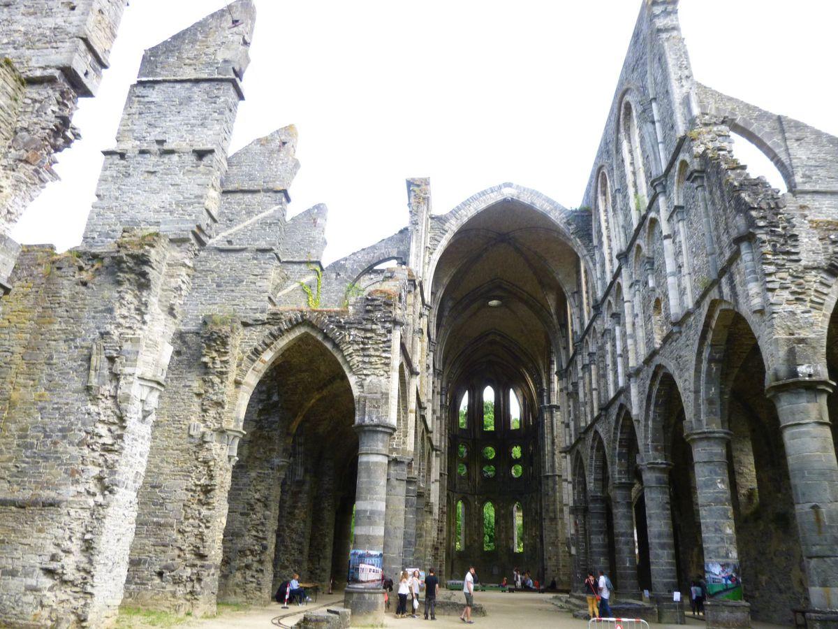Kláštor Villers. Belgicko