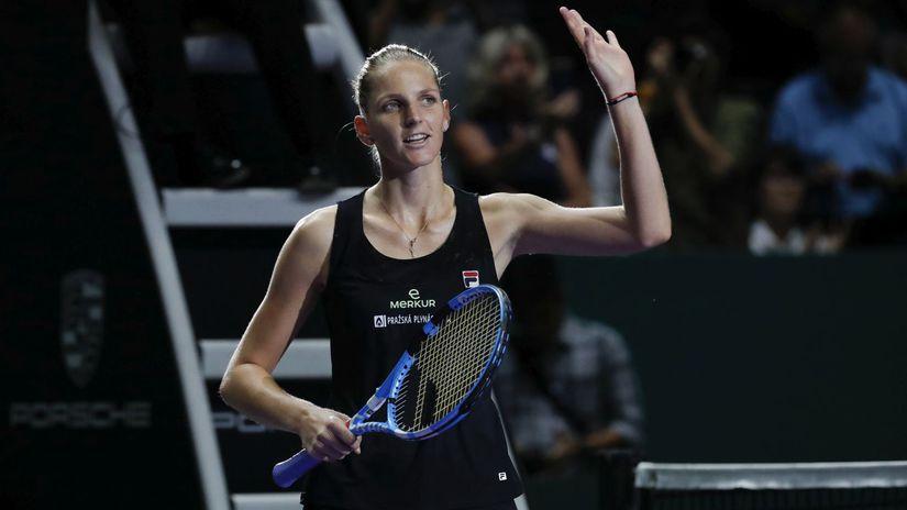 Singapur WTA Tenis Biela Skupina Plíšková
