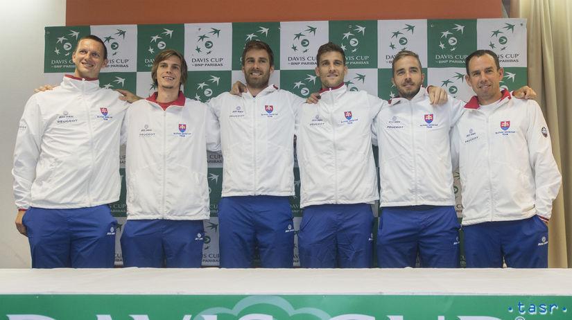SR Bielorusko Tenis DC Davis Cup baráž žreb BAX