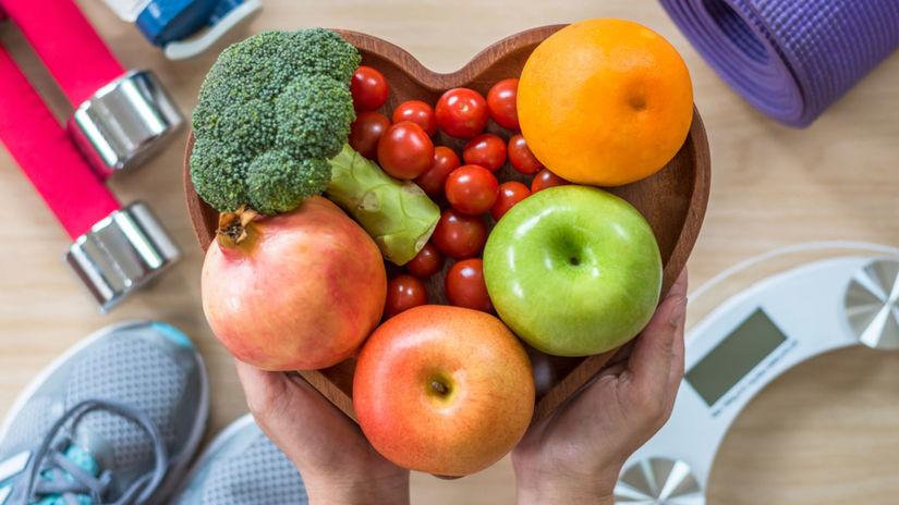 srdce, obezita, zdravá výživa, zelenina,...