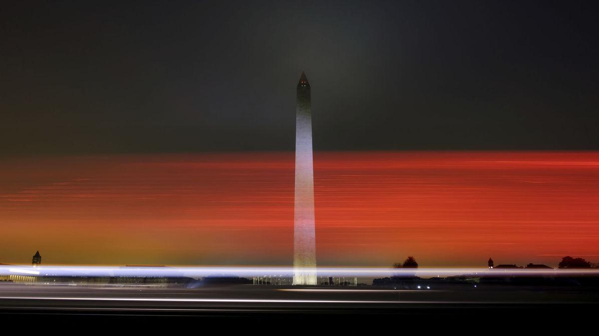Washington, USA, obelisk