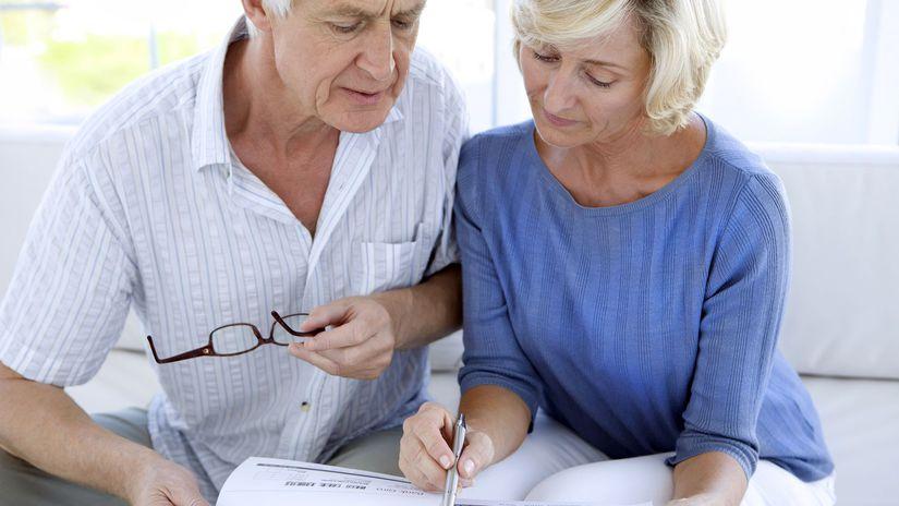 dochodci, zmluvy, dokumenty, účty