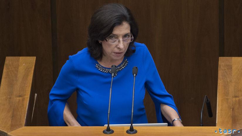 SR NRSR 35. schôdza zasadnutie parlament Anna...